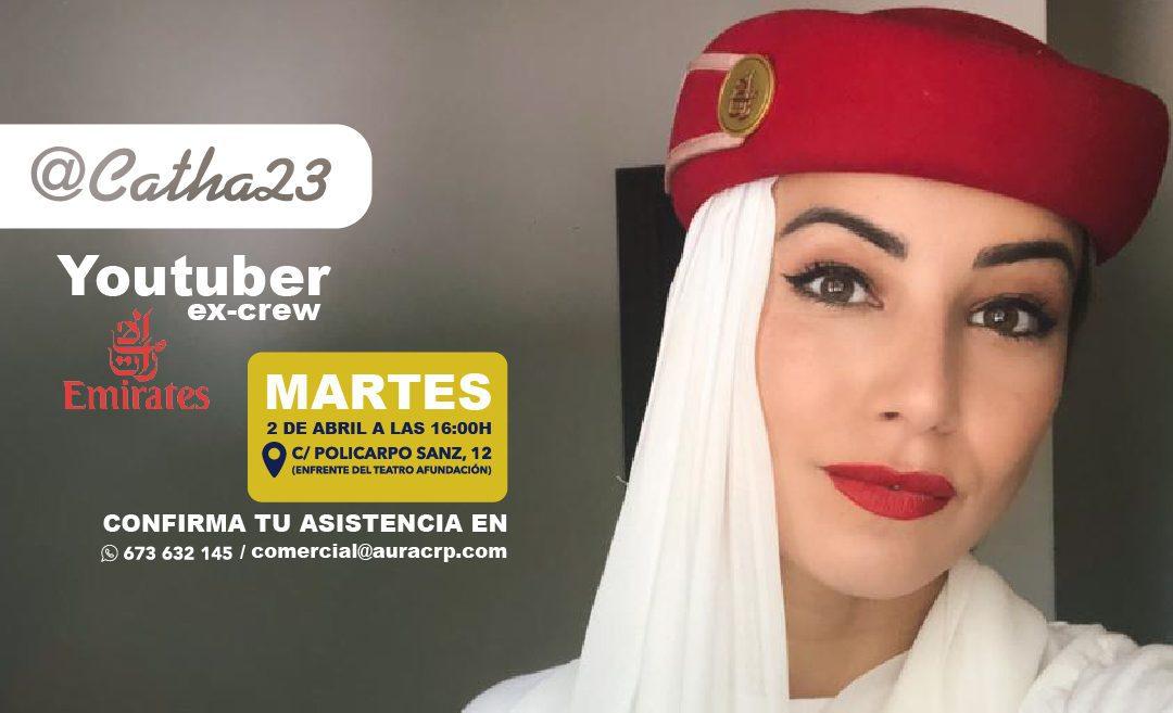 La Influencer Catha23 en Aura Vigo