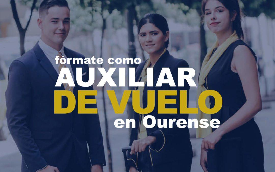 Curso de Azafata de Vuelo en Ourense