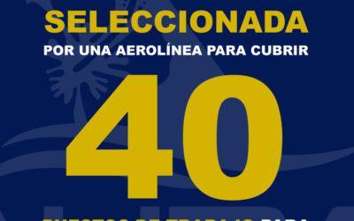 TRABAJAR COMO AUXILIAR DE VUELO: 40 PLAZAS DISPONIBLES